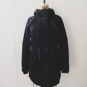 Athleta Women's Black Winter Puffer Coat Parka